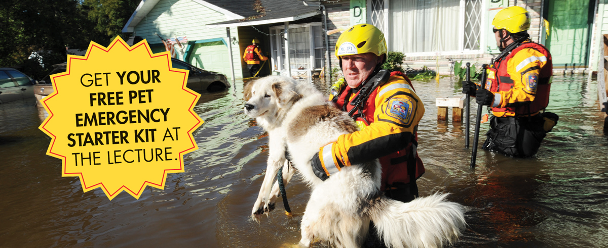 FOR PET'S SAKE: INCLUDE PETS IN EMERGENCY EVAUCATION PLANS