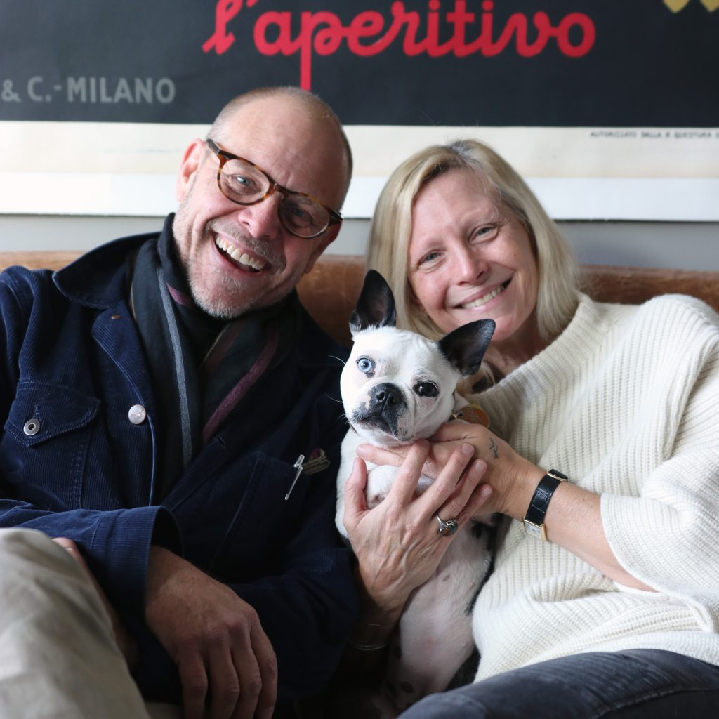 Alton Brown, Elizabeth and Abigail