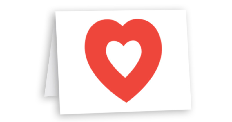 2020 07 In Memory Printed Card 800x420 Heart