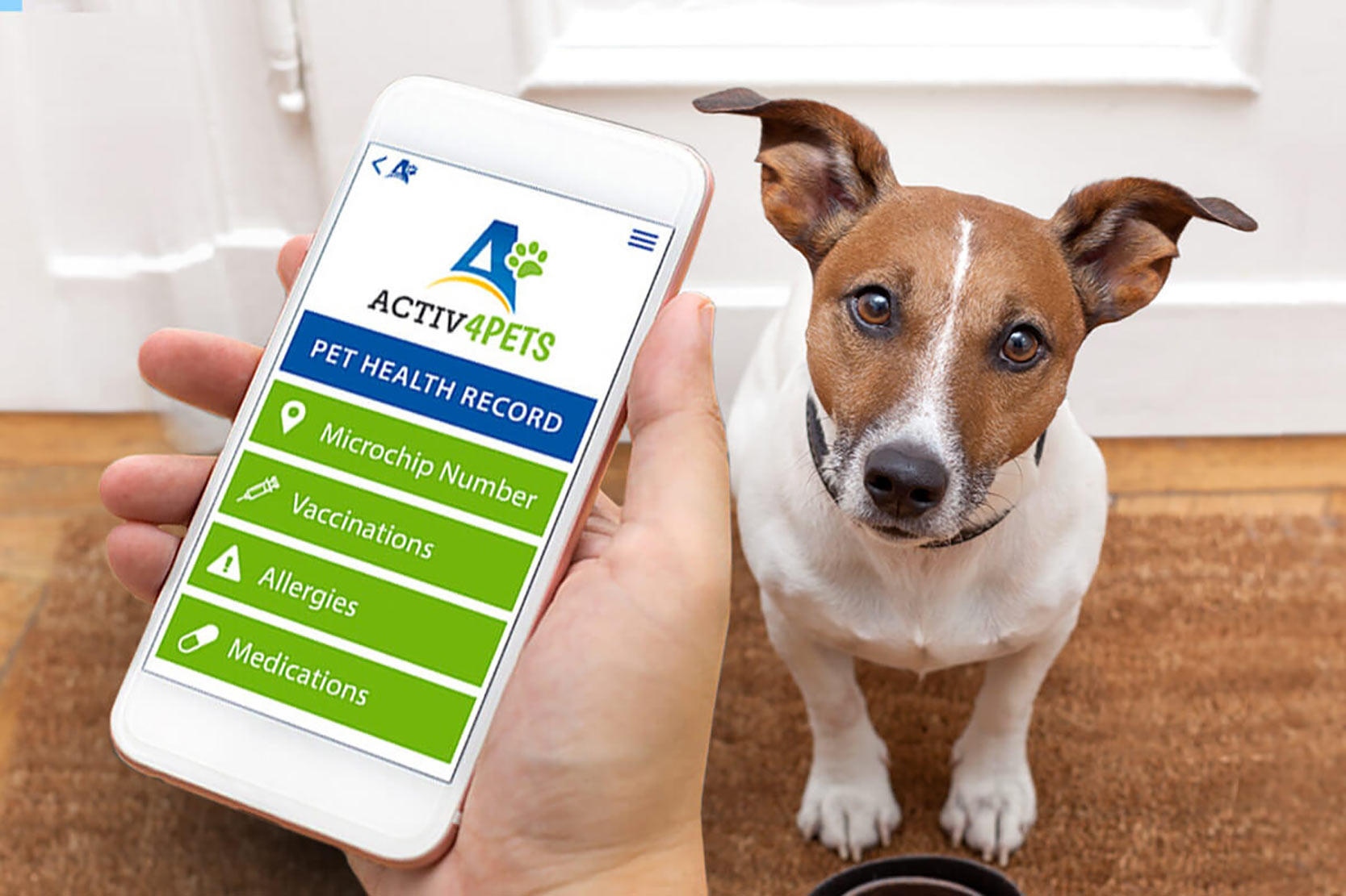 Upload your pet's medical records